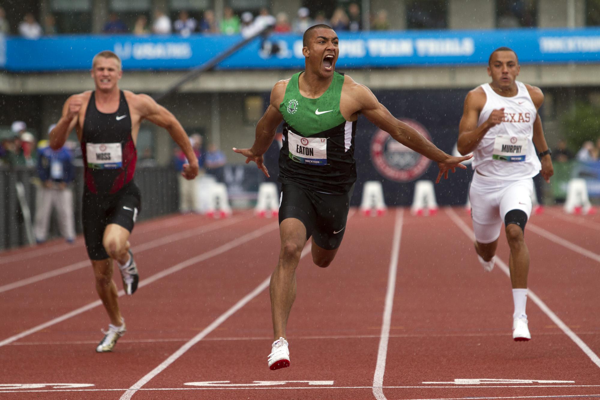 Ashton Eaton 100m Record