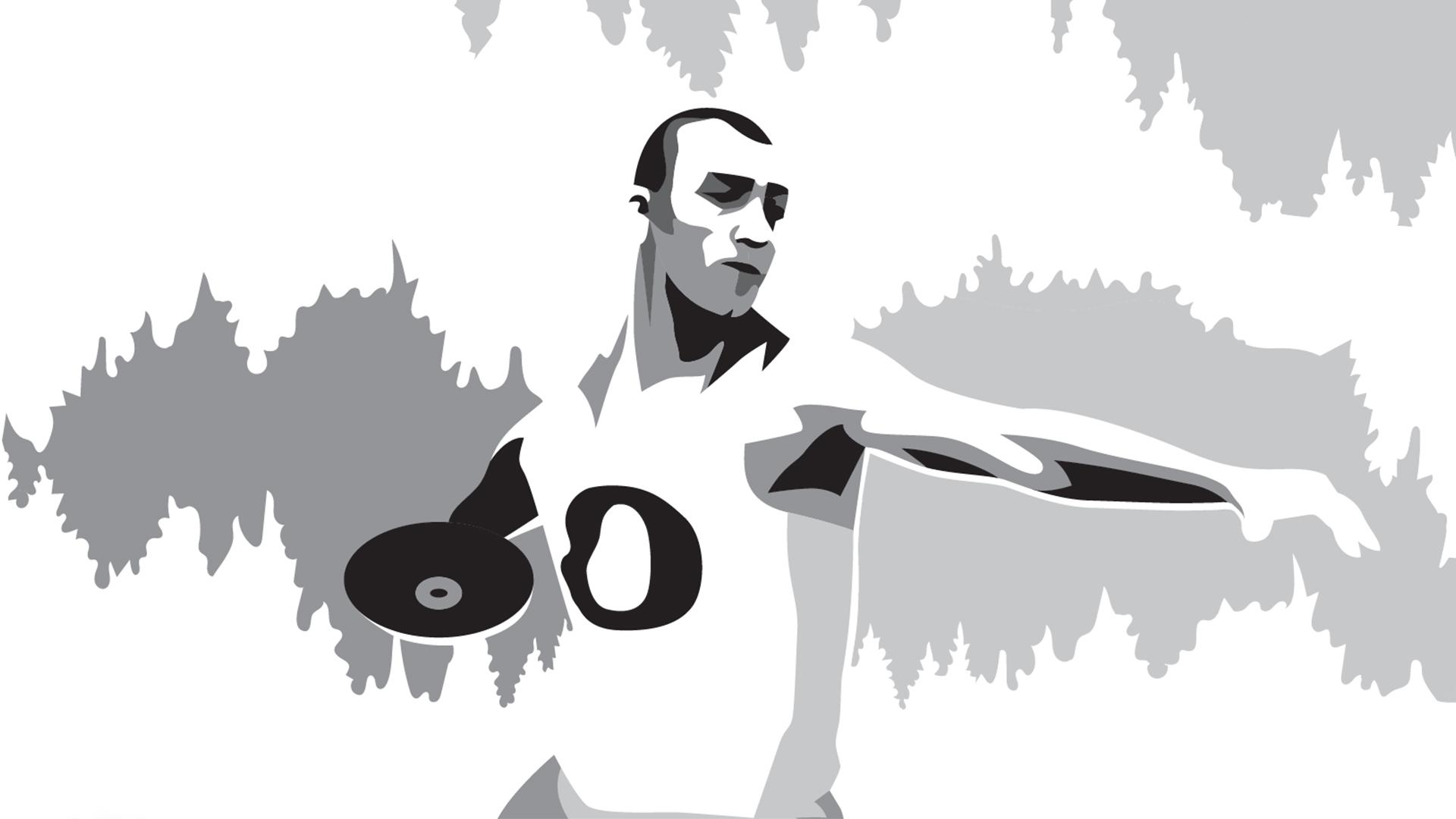 Ashton Eaton illustration
