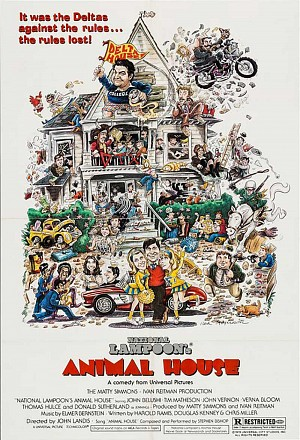 Movie poster for Animal House