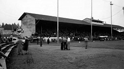 Homecoming football game played against Oregon State at Hayward Field on October 23, 1937